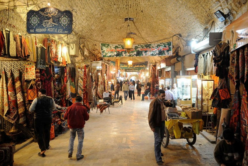 The-Al-Madina-Souq-Market-in-Aleppo
